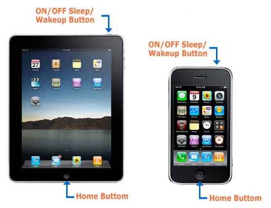 How to take screenshot from your ipad or iphone wwwlabz